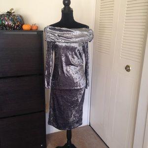 Windsor Velvet Dress